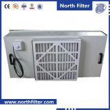 Unidad de filtrado del ventilador para el filtro de aire