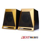 Matériau ABS 2.0 canaux haut-parleurs actifs portable numérique
