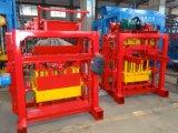 Machine de fabrication de brique manuelle de la colle de /Manual de machine de brique de la colle Qtj4-40