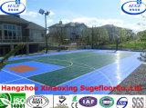 Suelo al aire libre modular colorido del deporte del baloncesto del piso de la corte de los PP