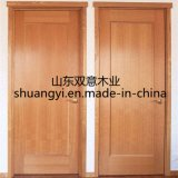 단단한 나무로 되는 안쪽 문이 중국에 의하여 공장 가격에게 했다