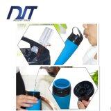 Custom Logo Soft Rollable BPA Free Silicone Telescoping Water Garrafa