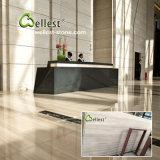 Tuile en bois blanche de marbre de mur d'étage de la Chine pour l'hôtel/villa/construction commerciale