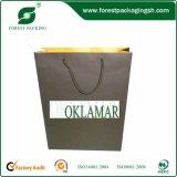Sacs à provisions de papier bon marché de laminage de constructeur, sacs d'emballage