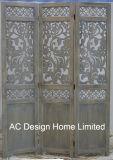 De decoratie graveert de Antieke Uitstekende Houten Verdeler van de Zaal van het Scherm