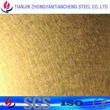 Strato laminato a freddo dorato dell'acciaio inossidabile 304 nelle azione dell'acciaio inossidabile