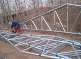 安いプレハブの鉄骨構造のニワトリ小屋の農場