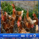 ячеистая сеть цыпленка размера сетки 45mmx45mm шестиугольная с ценой по прейскуранту завода-изготовителя