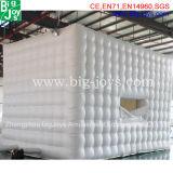 Luftdichtes Belüftung-aufblasbares Festzelt für Verkauf, weißes aufblasbares Festzelt