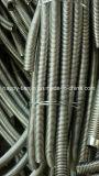 Manguito flexible del metal trenzado anular del acero inoxidable