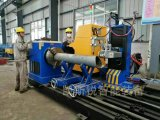 Máquina de estaca da câmara de ar da tubulação e do quadrado do CNC