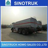 caminhões de combustível Fuel Oil do caminhão de petroleiro 20ton de 6X4 25000L HOWO