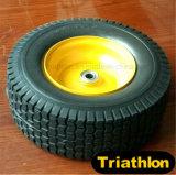13X5.00-6 13X6.50-6 13X6.00-8 무거운 손수레 PU 거품 타이어