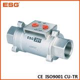 Клапан пневматическим управлением Esg Ss материальный осевой