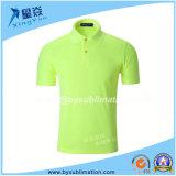 Maglietta Quick-Dry di polo della maglietta di sublimazione di Dacron