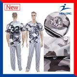 Béisbol Jersey del diseño de Healong de la ropa de deportes de Digitaces de los hombres únicos de la impresión