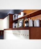Gabinete de armazenamento de 2017 gabinetes de cozinha da HOME da mobília da madeira contínua (Zq-011)