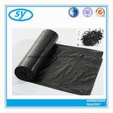 Мешки отброса сильного черного PE материальные