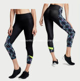 Pantaloni stretti di alto della vita delle donne di forma fisica sport sexy di yoga