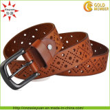 Women와 Men Leahter Belt를 위한 다른 Design Buckle