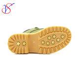 Le travail de fonctionnement de sûreté d'injection d'enfants de gosses ajusté par famille amorce des chaussures pour la fonction extérieure (VERT SVWK-1609-043)