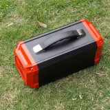 Bateria solar portátil com o inversor para ao ar livre
