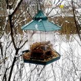 OEMの屋外のハングのプラスチック透過鳥の送り装置