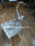 Нержавеющая сталь мебели гостиницы обедая стул венчания стула для случая