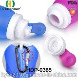 320ml BPA освобождают бутылку воды спорта портативного силикона складную