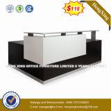 Panneau métallique en acier Verre trempé Bureau/Table de réception (HX-8N1809)