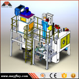 Mayflay ha personalizzato la macchina di martellamento della rotella delle quattro piattaforme girevoli di posizione
