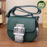 De Handtas Emg5305 van het Leer van de Vrouwen van de Productie van China van de Zak van het Leer van de Handtassen van de Schouder van dames