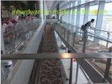 Pilier de verre pour l'aéroport