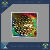 Holograma de segurança etiqueta com o logotipo de Design Personalizado, Autocolante com holograma Factory