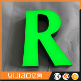 Lettre faite sur commande faite sur commande élevée d'alphabet