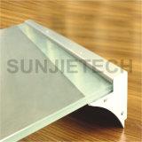 Анодированный алюминий LED профиль для стекла