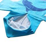 Изготовленный на заказ полное печатание 100%Cotton ягнится с капюшоном полотенца ванны для мальчика