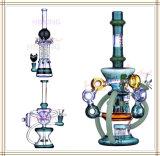 Hbking gros tuyau eau en verre Verre barboteur Oil Rig DAB Rig Tuyau de tabac Pipe en verre haute qualité