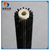 Gelochte Heftklammer-gesetzter Nylonheizfaden-industrielle Zylinder-Pinsel-Rolle