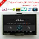 """7.0 """" Voiture Caméscope de tableau de bord avec Android 6.0 ; la navigation GPS ; 2.0Mega Full HD 1080p caméra ; 2CH enregistreur vidéo numérique ; appareil photo de stationnement"""
