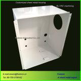 Fabricación personalizada de armario de chapa metálica para las cajas de la máquina