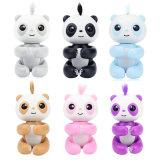 Panda électronique de doigt de licorne de singe de bébé de lapin de paresse de licorne d'écureuil de panda de singe d'animal familier interactif comme jouet des gosses