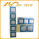Etiqueta engomada termal del traspaso térmico de la temperatura del papel del cambio del color