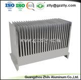 Material de construcción de la serie 2000 Disipador de aluminio para la maquinaria
