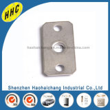 Corchetes de acero ranurados eléctricos del metal del OEM para el acondicionador de aire