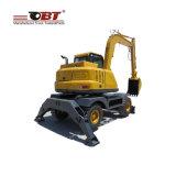 mini excavador hidráulico de la rueda de 6ton Obt de China
