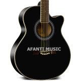 """Chitarra acustica del Basswood 41 di musica di Afanti """" (AAG-118)"""