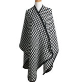 Senhora acrílico de moda de lantejoulas Ruffle Trim (YKY Xale4591)