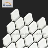 Mattonelle di mosaico lunghe di esagono delle mattonelle di alta qualità di figura bianca del favo