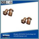 CNC точности подвергая механической обработке для бронзового соединения